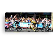 Bradley Wiggins Tour de France Canvas Print