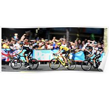 Bradley Wiggins Tour de France Poster