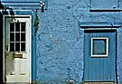 Blue Door, White Door by cclaude