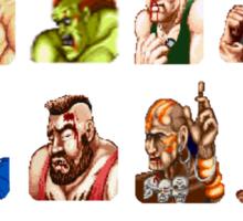 Street Fighter Failure Sticker