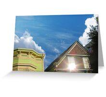 Sun in the Window Greeting Card
