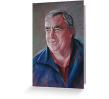Portrait of Ken Greeting Card
