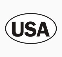 USA - Oval Identity Sign by Ovals