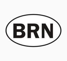 BRN - Oval Identity Sign by Ovals