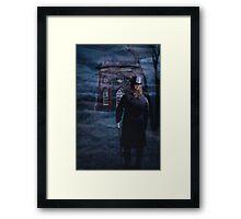 The Folly in the Mist Framed Print