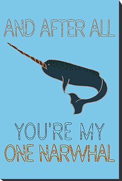 One Narwhal by mber
