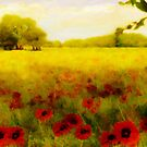 A Poppy meadow&#x27;... by Valerie Anne Kelly