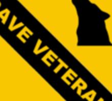 1st Techno Division - Rave Veteran Sticker