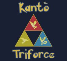 The Legendary Kanto Triforce by LevelB