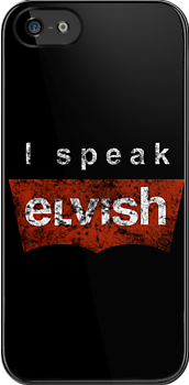 I speak Elvish ( vintage ) by karlangas