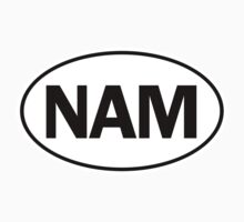 NAM - Oval Identity Sign by Ovals