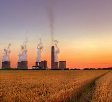 Radcliffe - On - Soar Power Station by John Dickson
