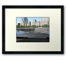 Northern Memorial Pool Framed Print
