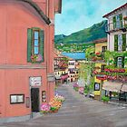 Bellagio, Italy by Teresa Dominici