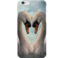 Swan Love iPhone/iPod Case iPhone Case/Skin
