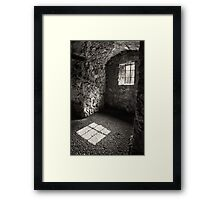 Shadow of a Window Framed Print
