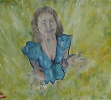 """Rain Catcher""  by Carter L. Shepard by echoesofheaven"