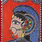 Lady in Ornaments by Shakhenabat Kasana