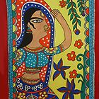 Dancing Woman by Shakhenabat Kasana