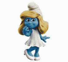 Smurfette by Catherine O'Hagan