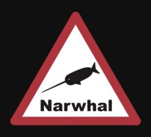 Warning Narwhal Kids Clothes