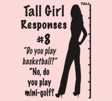 Tall Girl Responses #8 by sandnotoil