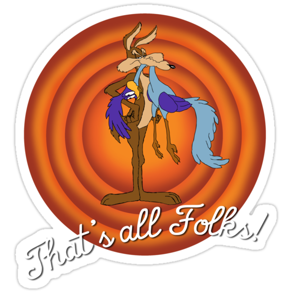 Wile E Coyote catches The Roadrunner by blazebyrne