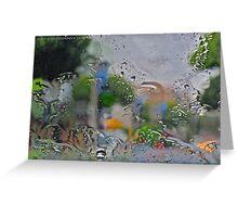 Windshield Art Greeting Card