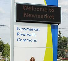 Welcome to Newmarket by Jeanette Muhr