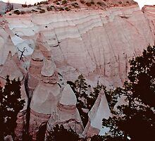 The Summit of Tent Rocks, NM  by NovaCynthia