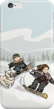 Winter is Coming iPhone Case by Sarah  Mac