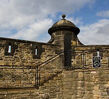 Upper section of Edinburgh Castle by ashishagarwal74