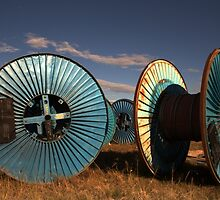 Big Cotton Reels...... down on the farm by myraj