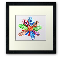 If Only I Could Have You In My Garden... Framed Print