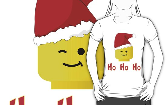 Santa Ho Ho Ho Minifig by Customize My Minifig by ChilleeW