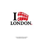 I LOVE LONDON by labelia