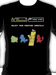 Choose Your Creature... T-Shirt