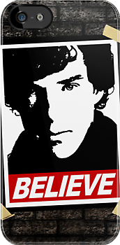 BELIEVE poster (UPDATED) by bomdesignz
