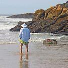 Beach Watcher At Work by Jack Ryan