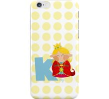 k for king iPhone Case/Skin