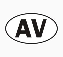 AV - Oval Identity Sign by Ovals