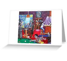 'THE TAVERN AT THE END OF THE WORLD' Greeting Card