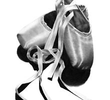 Ballet Slippers by artddicted