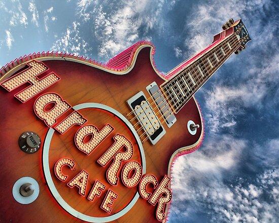 Hard Rock Cafe Las Vegas by Susanne Correa