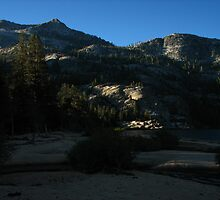 Dawn on Benson Lake's Southern Rim, Pacific Crest Trail, CA 2012 by J.D. Grubb
