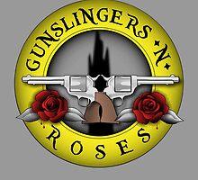 Gunslingers N' Roses by Rainey April