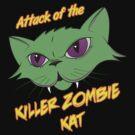 Attack of the Killer Zombie Kat by koolkatart