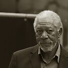Mister Morgan Freeman In Portrait Orientation by berndt2