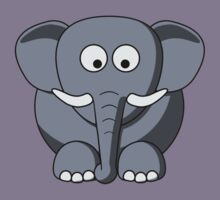 Cartoon Elephant by mdkgraphics