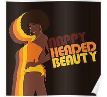"""""""Nappy Headed Beauty"""" Poster"""